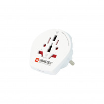 SKROSS Single Adapter Europe, адаптер для путешествий со всего мира в CEE 7/4-out