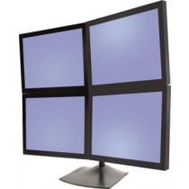Ergotron DS100 table stand for 4 monitors 2 over, 2 horizontal 35-3505 / 33-324-200