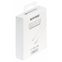 Cable Essentials MicroUSB-USB-A, 1.5m, white / 387919