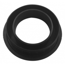 Frame for desk hubs, 80mm DELTACOIMP black / 80MM