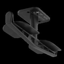 DELTACO GAMING Вешалка для двух гарнитур, АБС-пластик, 3M, черный