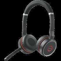Headset JABRA 75 MS Stereo, BT, active noise cancellation, USB, black / JABRA-403 / 7599-832-199