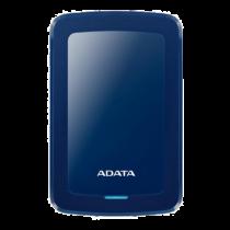 ADATA 1TB External Hard Drive, 10.3mm, USB 3.1, Quick Start, Blue  AHV300-1TU31-CBL / ADATA-430