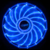 Akasa Vegas LED chassis fan, 120x120x25mm, 1200 RPM, 3-pin, 23.2 dBA, black / blue / AK-FN091-BL