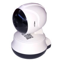 "Wireless IP camera, 720p, 1/4 ""CMOS, 3.6 mm fixed lens, F2.0, tilt 355 °, 90 ° Pan, iOS / Android application, 802.11n, microSD slot, infrared, white / black/ AK8639"