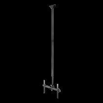 """DELTACO OFFICE Телескопическое поворотное потолочное крепление LED / LCD, 37-70 """", 2"""