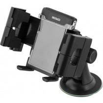 Holder  DELTACO mounted on the windshield, 35-100mm / ARM-205