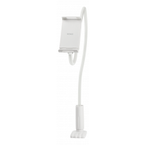 "DELTACO Stand For Smartphones And Tablets, Flexible Arm 4 ""and 10.6"", White ARM-276"