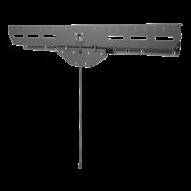"DELTACO TV / Monitor wall mount, 37 ""-80"", 3.1 cm profile, VESA, blac / ARM-465"