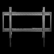 """DELTACO Сверхмощный стационарный настенный кронштейн для телевизора, 60-100 """", изогнутый и плоский"""
