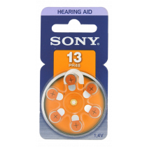 SONY PR48 Батарея цинковая для слуховых аппаратов, 1,4В, 6-шт