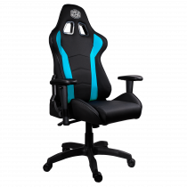 Gaming chair COOLER MASTER Caliber R1, blue / CMI-GCR1-2019B