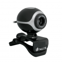 Camera NGS  XPRESSCAM300 Full webcam with 300Kpx CMOS sensor. Zoom, facial tracking system
