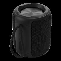 Водонепроницаемая Bluetooth-колонка STREETZ, 2x 5 Вт, AUX, встроенный микрофон, черная