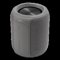 Водонепроницаемая Bluetooth-колонка STREETZ, 2x 5 Вт, AUX, IPX, микрофон, серый