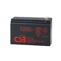 Acid lead battery 12V 7.2Ah F1 Pb CSB  CSB-GP1272F1