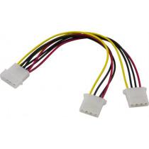 Cable DELTACO 4 pin, 2x4 pin / DEL-114