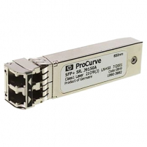 Aruba - SFP + transmitter / receiver module - 10 GigE - 10GBase-SR - SFP + / LC multi-mode - up to 300 m HPE / DEL1009947