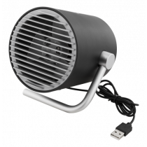 USB fan DELTACO two speeds, 1m USB cable,  / FT-740
