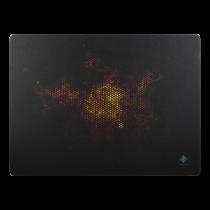 DELTACO GAMING mousepad, black - white / GAM-007