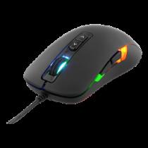 DELTACO GAMING Optical Mouse, 800-2000 DPI, 125 Hz, 7 Buttons, LED Lighting, USB, Black / GAM-029