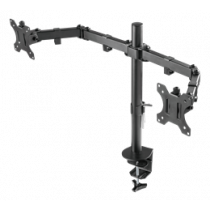 Dual monitor desk mount DELTACO GAMING GAM-040
