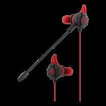 DELTACO GAMING Наушники-вкладыши со съемным микрофоном и наушниками