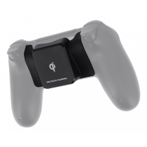 DELTACO GAMING receiver for wireless charging for PS4 control, Qi certified, black GAM-082