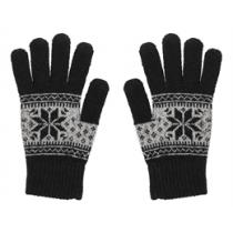 Gloves for touch screens STREETZ, black, size S / GLV-105