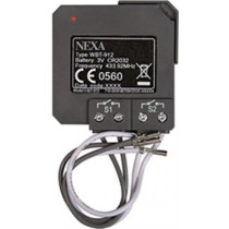 Nexa  Wireless Transmitter for Installation with Current Power Switches, Self-Learning and System Nexa Compatible WBT-912, / GT-247