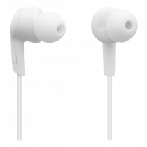 Bluetooth-гарнитура STREETZ, 3 часа использования, Bluetooth 5.0, белый