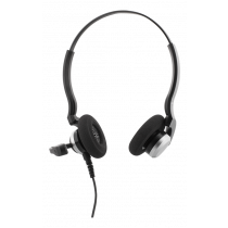 Headphones with microphone DELTACO 105 dB, 200Hz - 20kHz, 1.8m USB black / HL-71