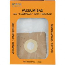 Dust bags Nordic Quality MAE2012 AEG 5pcs + 2 filter / 358504