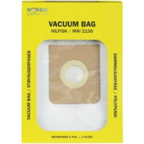 Dust bags Nordic Quality MNI2156 Nilfisk 5pcs + 1 filter / 358511