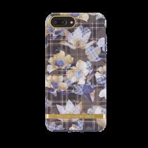Case Richmond for iPhone 6/6s Plus/7/8 Plus, blue floral / IP678-2088