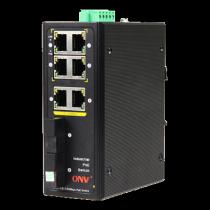 PoE switch, 4x RJ45, black   / ONV-IPS31032P-M