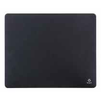 Mouse pad DELTACO recycled, black / KB-200
