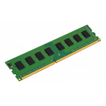 RAM Kingston KCP System-Specific 4GB, DIMM, DDR3, 1600MHz, CL11, 1RX8, Non-ECC KCP316NS8/4 / KING-1991