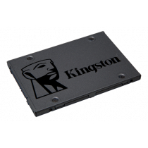"Kingston A400 SSD, 240GB, 2.5 "", SATA 6Gb / s, NAND TLC Flash, 7mm height, 2ch Controller, black / KING-2366"