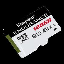 Kingston 128GB microSDXC Endurance 95R/45W C10 A1 UHS-I Card Only