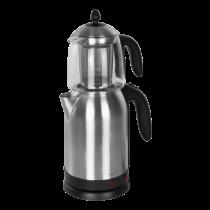 НОРДИК ДОМАШНЯЯ КУЛЬТУРА 2-в-1 Чайник электрический и стеклянный чайник, 1,7л, ул