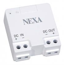 NEXA Dimmer for fixed installation for LED with built-in drive, 12-24V, white 14315 / LDR-075