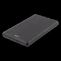 """External 2,5"""" HDD/SDD enclosure, USB-C, USB 3.0, aluminium, DELTACO BLACK / MAP-GD47C"""