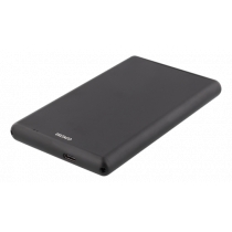 """External enclosure DELTACO 2.5"""", USB-C SATA/SSD, USB 3.1, black / MAP-GD48C"""