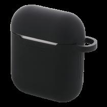 DELTACO AirPods силиконовый чехол, черный