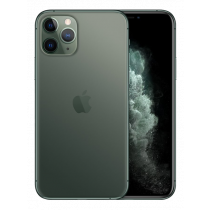 "Apple iPhone 11 Pro - Dual SIM - 4G - 256 GB - 5.8 ""- 2436 x 1125 (458 ppi) - Super Retina XDR Display (12 MP front camera) - midnight green / MWCC2QN/A"