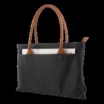 """Laptop case DELTACO 14"""", nylon fabric, PU leather handle, black / NV-788"""