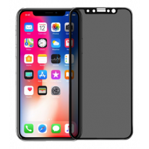 Pavoscreen 3D anti spy glass for iPhone X, 9H hardness, anti fingerprint, black  PAVO-107
