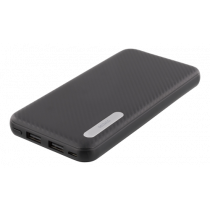 Power Bank DELTACO 10000mAh, 2.1A, 37Wh, black / PB-1063