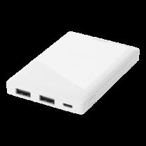 DELTACO power bank 5000 мАч, 2x USB-A, защита от короткого замыкания